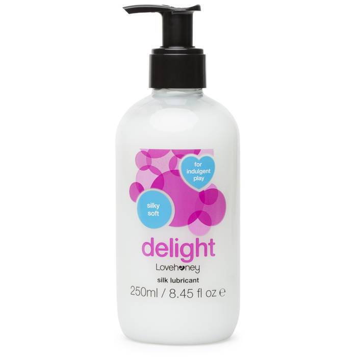 Lovehoney Delight Extra Silky Water-Based Lubricant 250ml