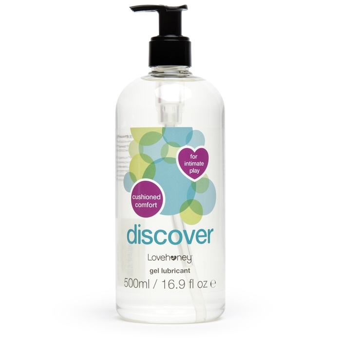 Lovehoney Discover Water-Based Anal Lubricant 500ml