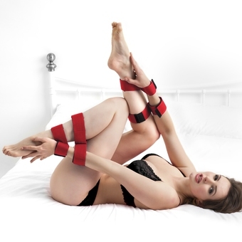 Scarlet Bound Double Leg and Arm Restraint Set