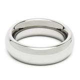 DOMINIX Deluxe 1.75 Inch Stainless Steel Doughnut Cock Ring