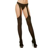 Dreamgirl Opaque Suspender Tights