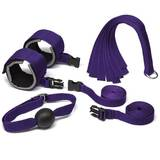 Purple Reins Bondage Kit (4 Piece)