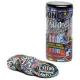 ONE Tattoo Touch Ribbed Condoms (12 Pack)