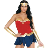 Fantasy Play Warrior Goddess Superhero Costume