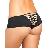 Rene Rofe Crotchless Knickers with Lace-Up Back